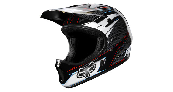 Fox Rampage Helm grey/red